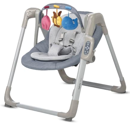 Inglesina嬰兒搖籃WAVE -  * Babies love to be rocked back and forth. As soon as you can't rock your baby yourself, the baby rocker WAVE by the Italian manufacturer Inglesina takes over.
