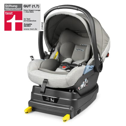 Peg-Perego嬰兒提籃Primo Viaggio Lounge包含i-Size底座 -  * The Peg Perego Set Primo Viaggio Lounge including i-Size base provides your little passenger with a backrest that can be adjusted to a comfy lying position thanks to the Comfort Recline function.