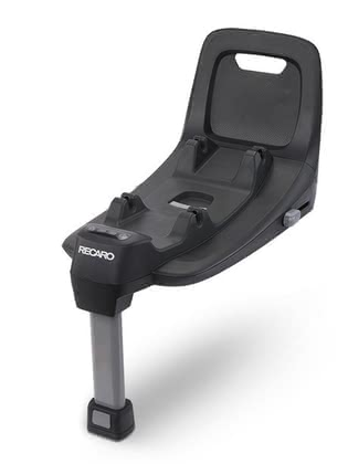 Recaro Avan/Kio i-Size底座 -  * The Recaro i-Size base is part of a super convenient modular system. With the Avan infant car seat and the rear-facing child safety seat Kio, your child can travel safely from birth up to a height of 105 cm.