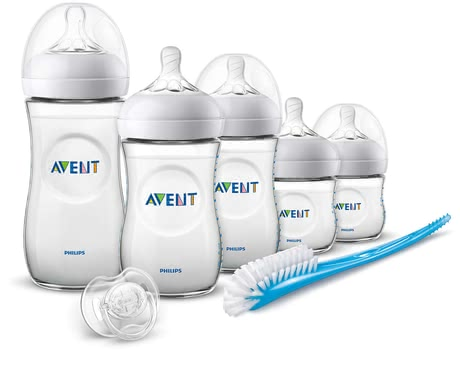 Philips AVENT 新安怡自然系列新生兒喂養套裝 -  * A set for a successful start in life. From the bottle in different sizes, teats or the soother: combining breastfeeding and bottle feeding is now even easier with the Natural teats.