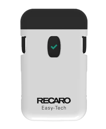 Recaro Easy-Tech安全性卡扣 -  * When you leave the vehicle, Easy-Tech reminds you that your child is still in the child car seat. With an acoustic, visual and haptic alarm you will be alerted on your registered smartphone.