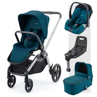 Recaro Celona 3-in-1 組合系列包含Isofix底座 -  * The perfect companion for every situation right from the very first day! The Recaro Celona 3-in-1 travel system comes with a seat unit, carrycot and the Avan infant car seat.