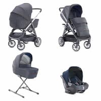 Inglesina Aptica System Quattro組合套裝包含嬰兒提籃DARWIN i-Size -  * The unmistakable glam style will attract all trend-conscious and modern parents. The Aptica is not only a sporty companion, it scores with convenient handling and a lot of comfort for your little one.