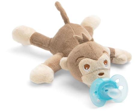 Philips AVENT 新安怡安撫奶嘴玩偶架 -  * These cheerful and cuddly soft Snuggle toys will soon become your child's best friend. The Philips AVENT Snuggle can be used as a comforting soft toy and / or as a soother holder.