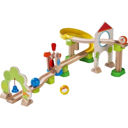 HABA滾珠軌道玩具-風車 -  * The cheerful, colourful Kullerbü ball track by HABA offers plenty of fun.