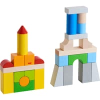HABA 積木玩具 – 彩色建築 -  * An amazing challenge for all little architects and builders.