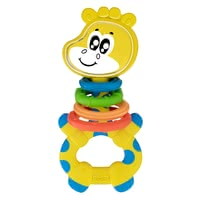 "Chicco 嬰兒玩具 搖搖樂長頸鹿造型 -  * The colorful ""Gilby the Giraffe"" rattle is particularly light and easy to hold thanks to its ergonomic shape."