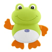 "Chicco 洗澡沐浴玩具 青蛙造型 -  * Swimming is only really fun for little water lovers when the ""Swimming Frog"" by Chicco is part of the bathing session."