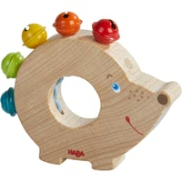 "HABA 會響的刺蝟 玩具 -  * The audible animal ""Hedgehog"" will make your little one beam with joy every time the little bells chime."