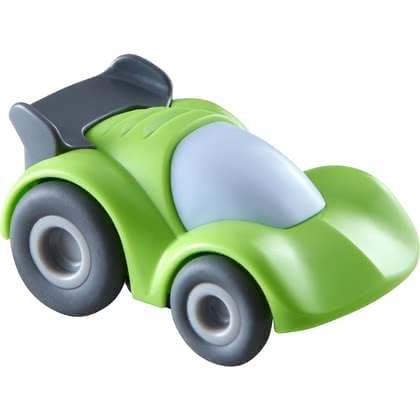 HABA Kullerbü – Racing Car -  * Are you ready for the ride? With the super cool racing cars by HABA, unlimited Kullerbü racing fun is guaranteed.