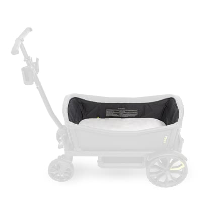 VEER 手推車內飾裝備 -  * With the VEER Bassinet, you can turn your cruiser into a certified stroller. You can use the insert for your little passenger right from birth.
