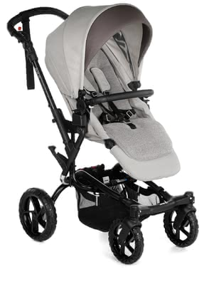 Jané Stroller Crosswalk R - * The Jané Crosswalk R masters the most difficult terrain easily thanks to its shock absorbers and off-road wheels – for real outdoor adventurers! At the same time, the trendy look makes the all-terrain stroller complete.