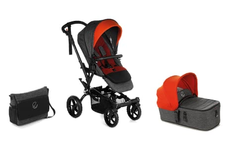 Jané Stroller Crosswalk R including Carrycot Micro - * For real off-road adventurers! The Jané Stroller Crosswalk R including the Micro carrycot is the perfect mobile companion on all journeys.