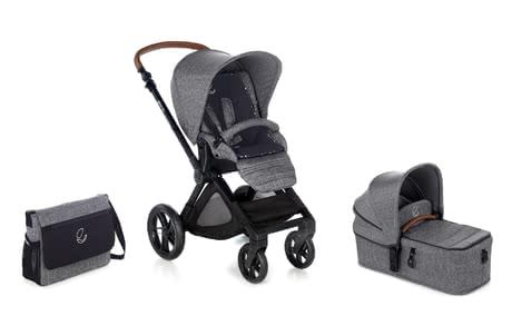 Jané Muum Stroller including Micro - * The full-fledged and compact Jané Muum including the Micro carrycot for your newborn baby provides you with a spacious stroller right from birth.
