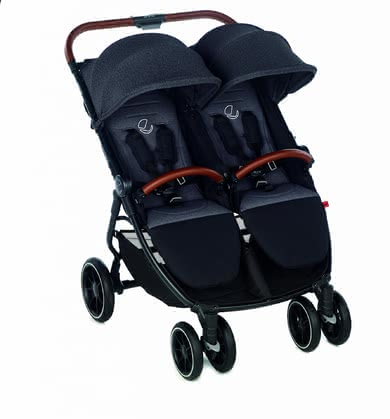 Jané 雙胞胎 輕便嬰兒推車 Twinlink - * Being out and about with two children can be quite a challenge. The Jané Twinlink is the best companion to offer your children a comfy spot - for trips together and for hitting the shopping mall.