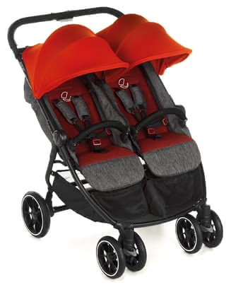Jané Double Buggy Twinlink - * Being out and about with two children can be quite a challenge. The Jané Twinlink is the best companion to offer your children a comfy spot - for trips together and for hitting the shopping mall.