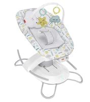 Fisher-Price嬰兒電動智能搖椅二合一 -  * ✓ Baby swing and bouncer in one product ✓ 2 rocking motions ✓ 6 speed levels ✓ 16 melodies and natural sounds ✓ Smartphone app