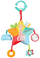 Vulli Star Activities Sophie la girafe® -  * Activity toy with more than 6 activities: squeakers, crackling paper, various structures and surfaces, teether, bells and mirrors.