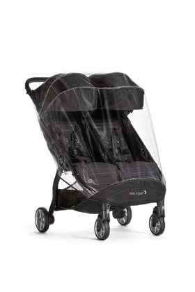 Baby Jogger 防風防雨罩 適用於City Tour 2 double -  * With the practical weather shield for the Baby Jogger City Tour 2 double, your children are always well protected.