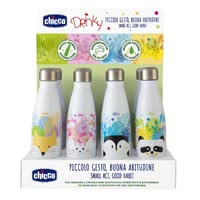 Chicco 不銹鋼保溫瓶 »Drinky« -  * ✓ holds 350 ml of your favourite drink ✓ keeps the temperature for approx. 6 hours ✓ leak-proof screw cap ✓ sustainable and free from harmful substances