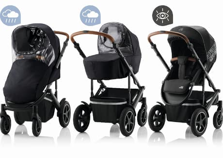 Britax Römer寶得適安全保護套裝組合 -  * The Britax Römer STAY SAFE set provides indispensable protection in rain and darkness, and ensures that your child arrives at their destination in a safe and protected way.