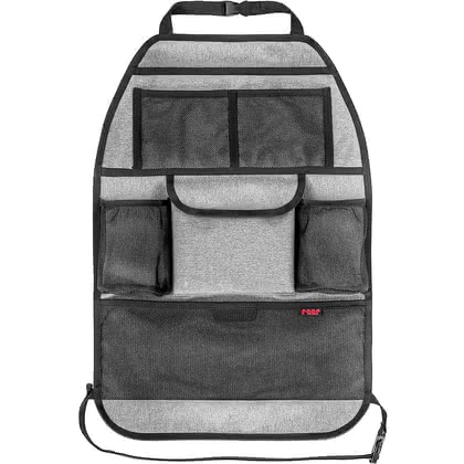 reer TravelKid Tidy汽車椅背收納袋 -  * ✓ practical backrest pocket ✓ safe storage option for toys, books & more ✓ water- and dirt-repellent materials ✓ suitable for sports seats