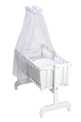 Alvi嬰兒搖籃床用品套裝 -  * The high-quality bed set for cradles by Alvi adds a special touch to every nursery. ➤ Order now!