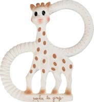 Vulli Teether Sophie la girafe © extra soft -  * ✓ Eco-friendly teething ring from Sophie la girafe ✓ 100% natural rubber ✓ extra soft surface ✓ free from harmful substances ✓ made in France