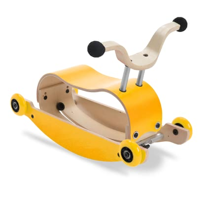 Wishbone 滑行車Mini-Flip 3in1 -  * ✓ 3in1 walk, rock & ride ✓ modern design – ecological & sustainable ✓ from 9 months up to 3 years