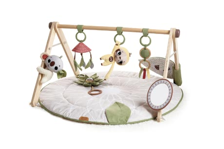 Tiny Love Boho Chic奢華款嬰兒游戲毯 -  * The playful and fashionable Tiny Love play arch promotes all of your baby's development skills and features 20 creative activities.