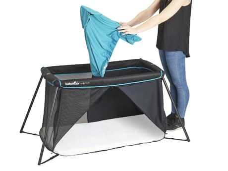 Babymoov嬰兒旅行床 床頂罩 適用於Naos -  * With this accessory, the Naos travel cot can be transformed into a play tent in no time at all.